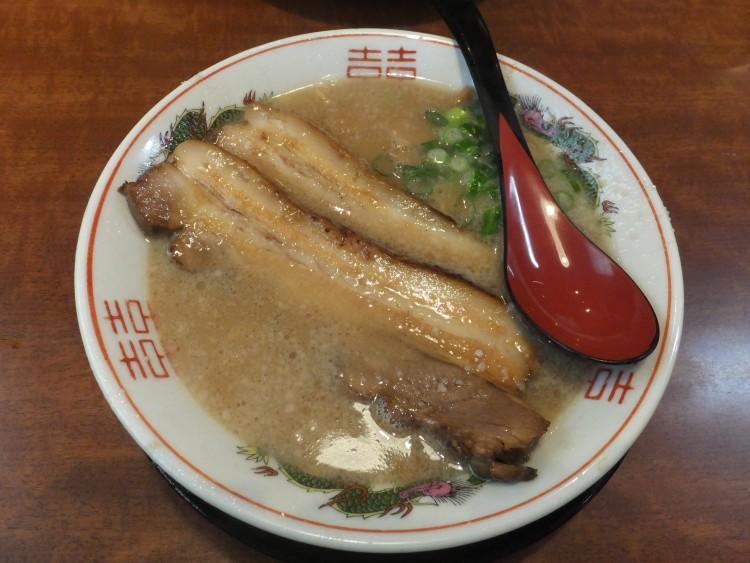 ラーメン屋「甚兵衛」チャーシュー麺
