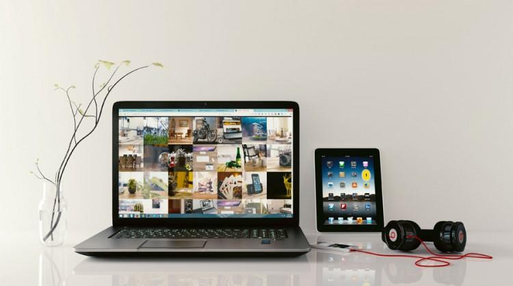 パソコンとタブレットとスマホ